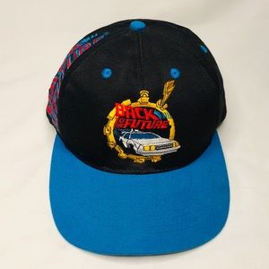 Rare VTG Back To The Future Hat